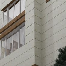 کاشی و سرامیک تراورتینو دو طرف کنیک ابریشمی بژ سایز ۱۶۰*۴۰ پرسپولیس